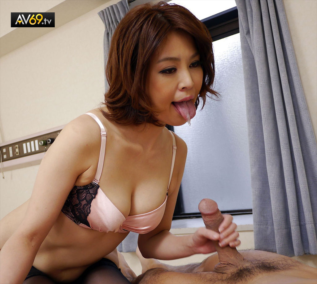 Japanese Threesome New video of asian porn slut in mmf <b>threesome</b> fucking